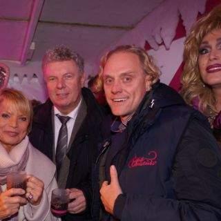 Pink Christmas - Der rosarote Markt am Stephansplatz