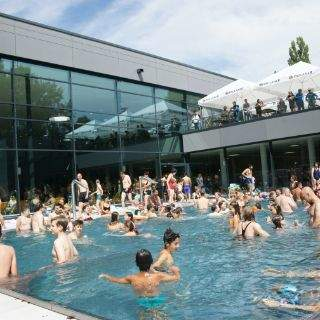 Tolle Stimmung im neuen Münchner Bad