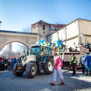 Faschingsumzug der Damischen Ritter in München 2017