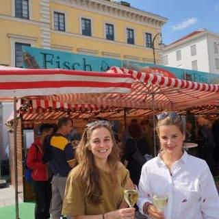 Wiesn-Stadtrat Otto Seidl eröffnete den Fischmarkt