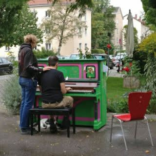 Die Klaviere bei Play Me I'm Yours 2017