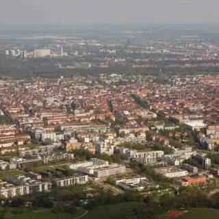 Zeppelinflug über München