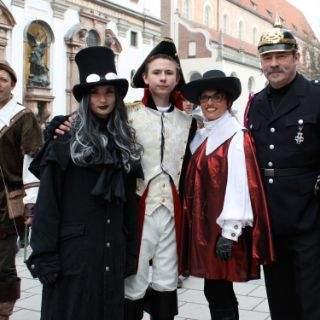 Faschingsspaß und tolle Kostüme bei München narrisch