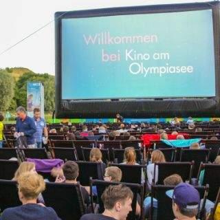 Stimmung bei Kino am Olympiasee