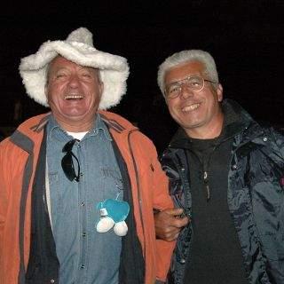 Rekordverdächtig: seit 10 Jahren kommen Ferri und Remo vom Gardasee regelmäßig auf die Wiesn. Was ihnen hier gefällt? Ganz einfach: ALLES!