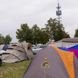 Oktoberfest Camping in München-Riem