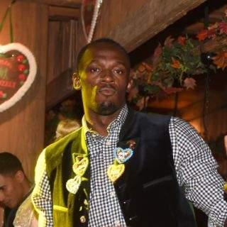 Der schnellste Wiesngänger der Welt: Usain Bolt