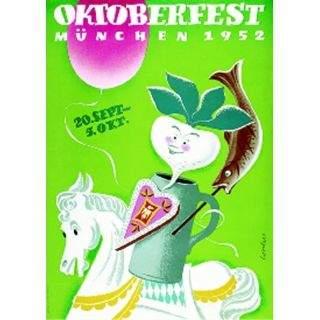 Oktoberfestplakat 1952