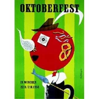 Oktoberfestplakat 1956