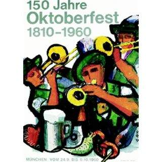 Oktoberfestplakat 1960