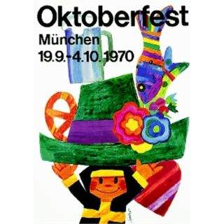 Oktoberfestplakat 1970