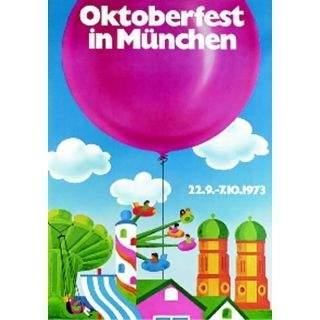 Oktoberfestplakat 1973