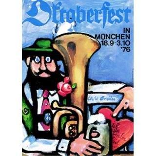 Oktoberfestplakat 1976