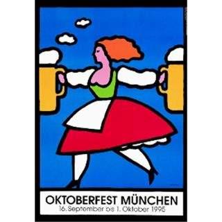 Oktoberfestplakat 1995