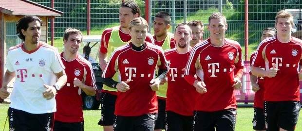 Bilder: Vorbereitung auf das Champions League Finale 2012