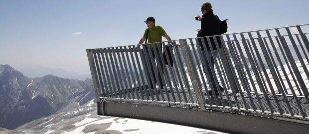 Aussicht vom Alpspix bei Garmisch-Partenkirchen