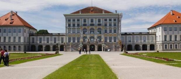 Frühling Schloss Nymphenburg