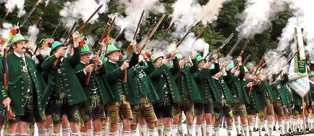 Historischer Festumzug Jubiläumswiesn 2010