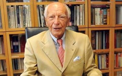 Der frühere Bundespräsident Walter Scheel.