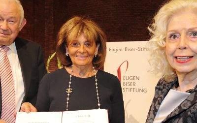 Charlotte Knobloch bei der Verleihung des Eugen-Biser-Preises.