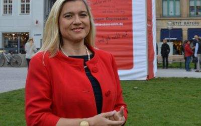 Die Bayerische Gesundheitsministerin Melanie Huml