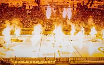 München, 30. Dezember 2016. Der EHC Red Bull München hat den ersten Teil des Hockey HALLEluja für sich entschieden.