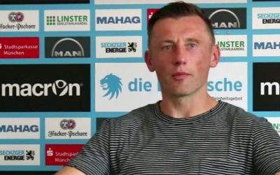 Pressekonferenz mit Ivica Olic beim TSV 1860
