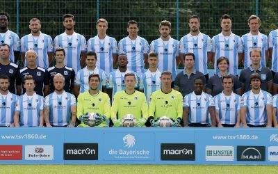 Das Team des TSV 1860 München