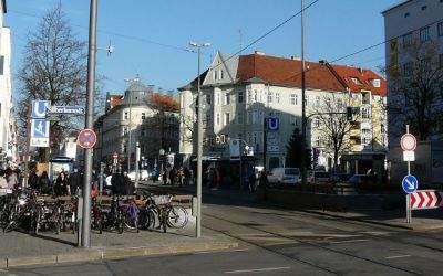 Der Tegernseer Platz in Giesing.