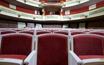 Stühle im Gärtnerplatztheater