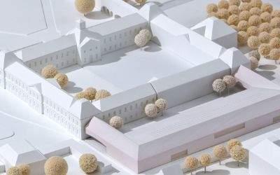 Modell des BIOTOPIA - Naturkundemuseum Bayern.