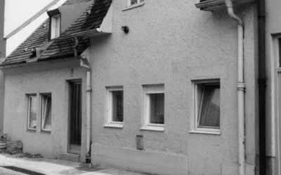 Uhrmacherhäusl in Giesing 1974