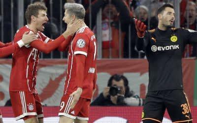 Der FC Bayern gewinnt gegen Dortmund