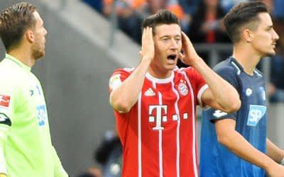FC Bayern München verliert 0:2 gegen den TSG Hoffenheim