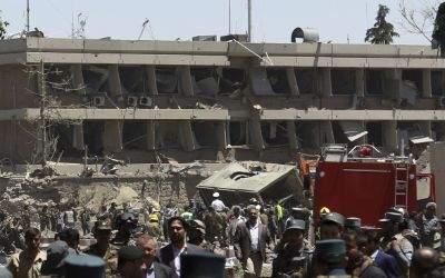 Anschlag in Kabul nahe deutscher Botschaft