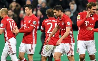 FC-Bayern gewinnt gegen VfL Wolfsburg