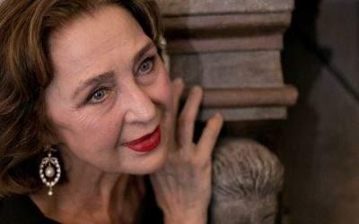 Die Schauspielerin Christine Kaufmann.