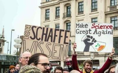 Marsch für die Wissenschaft