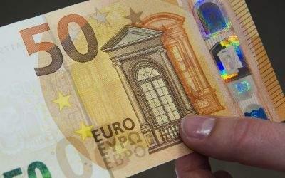 Der neue 50-Euro-Schein.