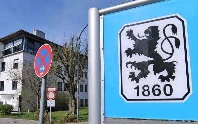 Die Gschäftsstelle des TSV 1860 München in der Grünwalder Straße.