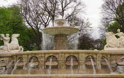 Wittelsbacher Brunnen in München