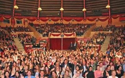 Festveranstaltung für Nachwuchskräfte der Stadt München am 1.9.2017 im Circus Krone