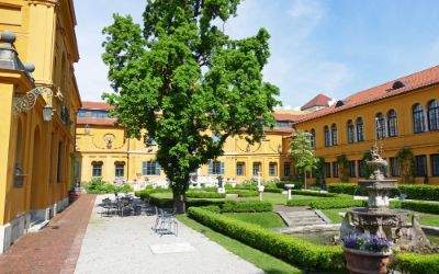 Garten des Lenbachhauses