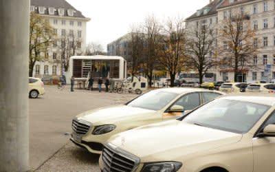 Aktion Taxi meets Kunstareal