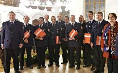 Impressionen vom Neujahrsempfang des Stadtfeuerwehrverbandes.