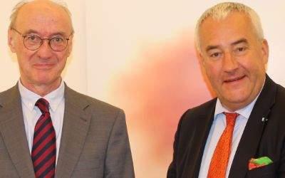 Prof. Dr. Winfried Nerdinger und Dr. Ludwig Spaenle