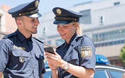 Neuer Messenger-Dienst der bayerischen Polizei