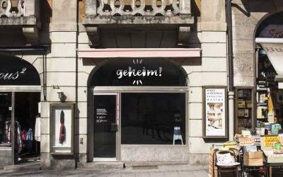 """Pop-Up Store """"GEHEIM"""" im Ruffinihaus eröffnet am 22.4."""