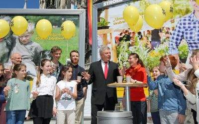 Vorstellung der Kampagne Rein. Und sauber mit OB Dieter Reiter