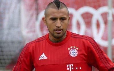 Arturo Vidal vom FC Bayern.